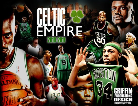 boston celtics empire designed by Hakim Griffin and Griffin Productions