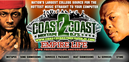coast-2-coast-mixtape-banner-promo designed by Hakim Griffin and Griffin Productions