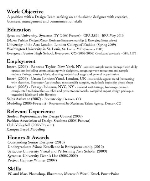 Avery Carter Resume