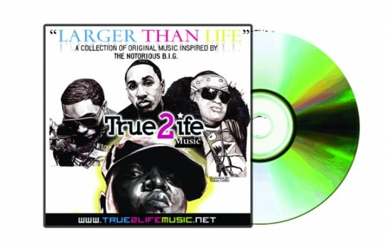 "True 2 Life Music ""Larger Than Life"" Notorious B.I.G. Tribute designed by Hakim Griffin and Griffin Productions"