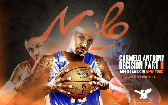carmelo anthony decision to new york knicks by hakim griffin and griffin productions