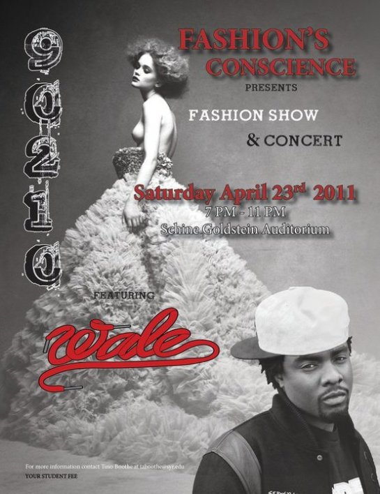 Fashion Conscience presents Fashion Show & Concert featuring Wale