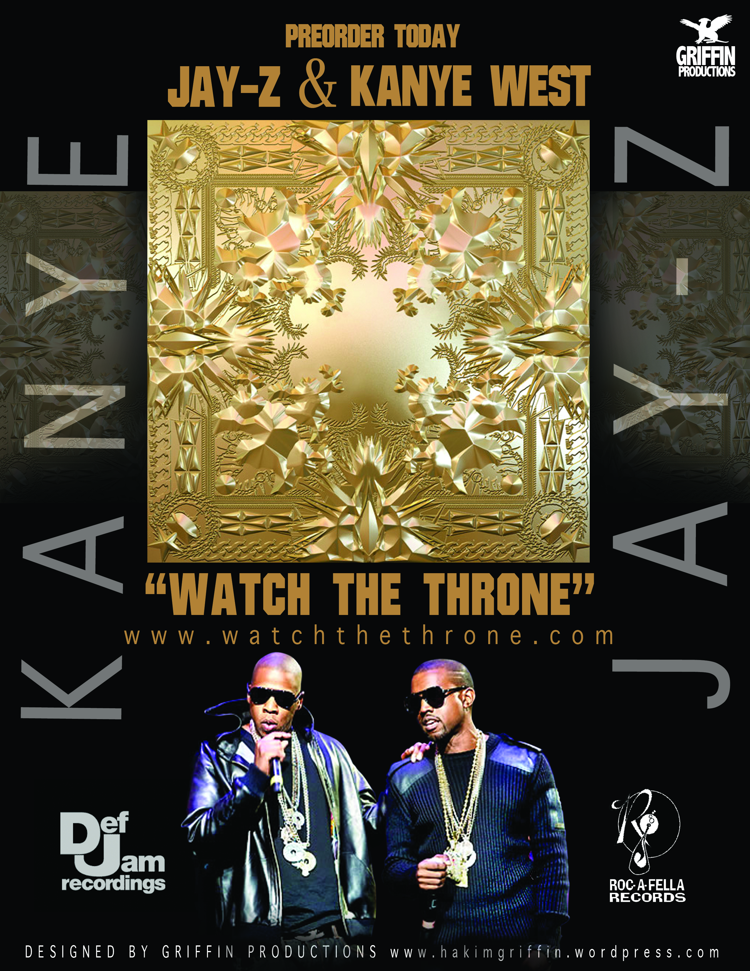 kanye jay z watch the throne tracklist