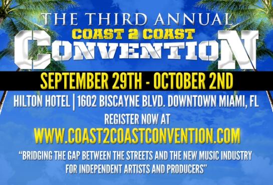 2011 Coast 2 Coast Mixtape Convention Miami Florida