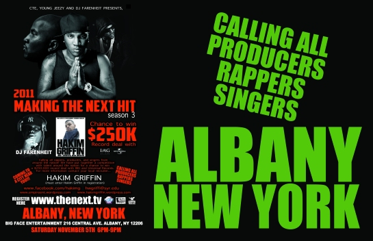 dj farenheit albany new york designed by hakim griffin