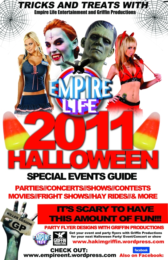 halloween guide 2011 designed by hakim griffin griffin productions