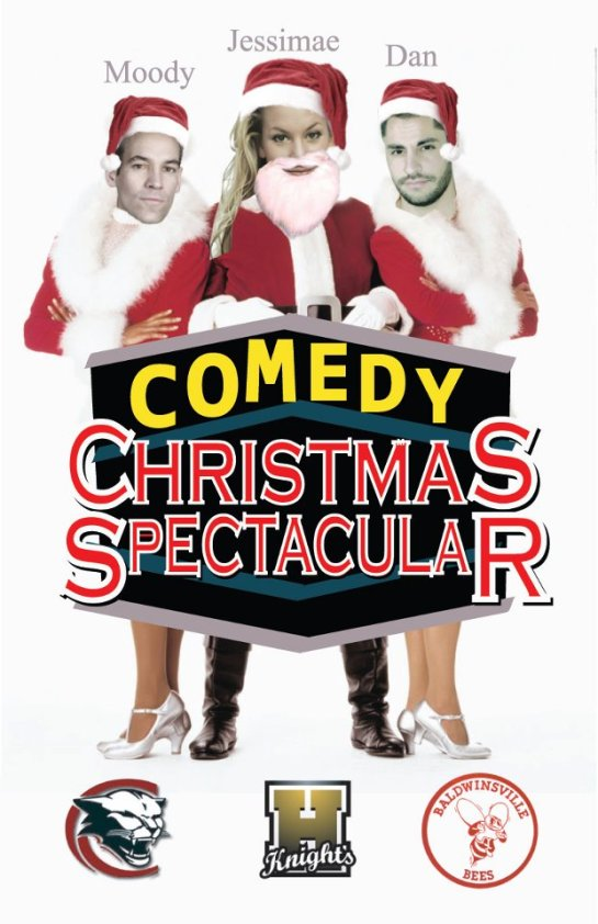 Christmas Comedy Spectacular in syracuse december 23rd 2011