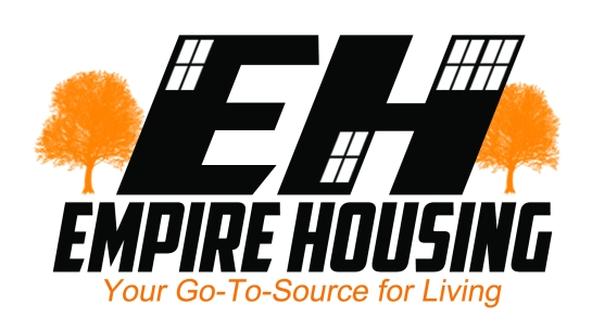 empire housing logo designed by Hakim Griffin