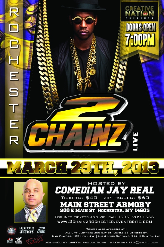 2 chainz in main street armory in rochester