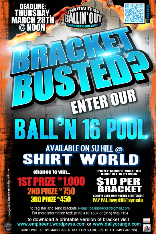 throw it up ballin out bracket challenge ball'n 16 daily orange 1-4 page