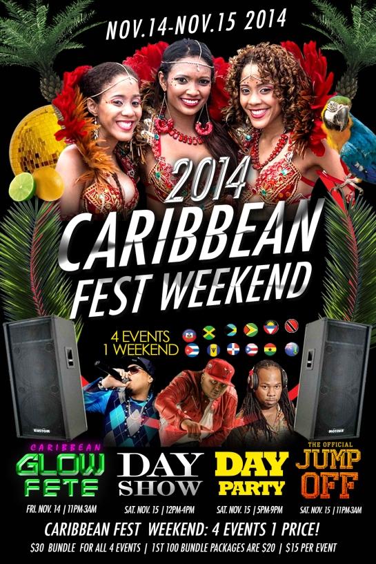 caribbean fest 2014 flyer