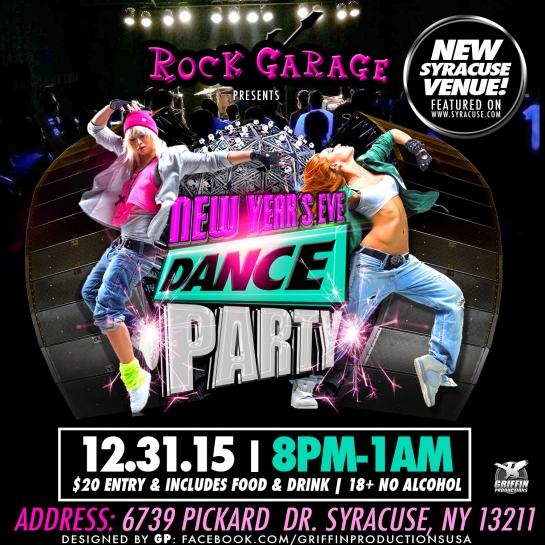 rock garage new years eve instagram tw promo