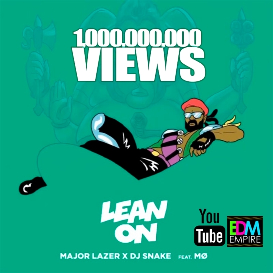 major lazer lean on promo