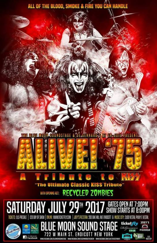 alive 75 the ultimate kiss tribute band blue moon sound stage